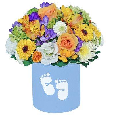 flores para mães de primeira viagem