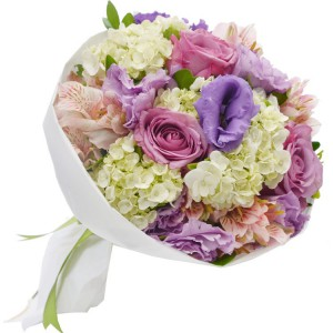 Dia da Avó — Buquê Carinho de Rosas Lilás