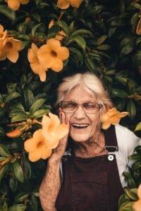 Qual é a flor favorita da sua avó?