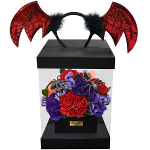 Flower Box Halloween