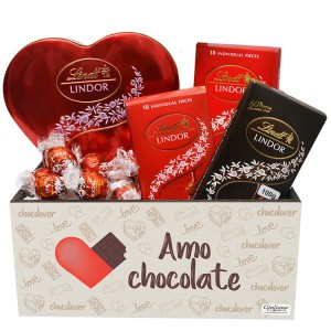 Kit de Chocolates Delícias Lindt
