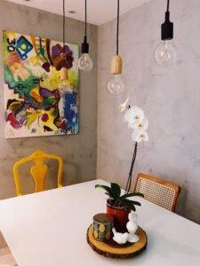 Orquídea para decoração