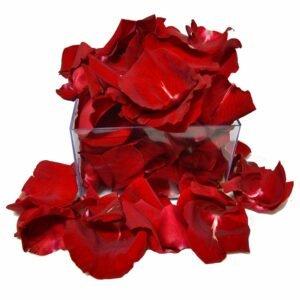 Caixa de Pétalas Giuliana Flores para decoração com pétalas de rosas