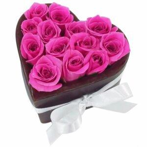 Mini Coração do Cupido Pink