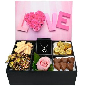 Caixa de Chocolates Sweet Love