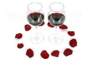 Decoração com Pétalas de Rosas para o Dia dos Namorados