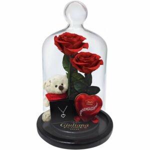 Jardim das Rosas Vermelhas Gift