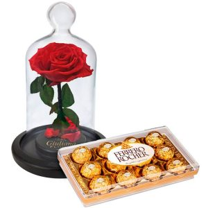 Rosa Encantada com Ferrero Rocher