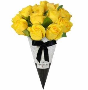 Buquê Magnífico de Rosas Amarelas